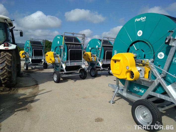 Напоителни системи Внос Система за напояване FERBO 8 - Трактор БГ