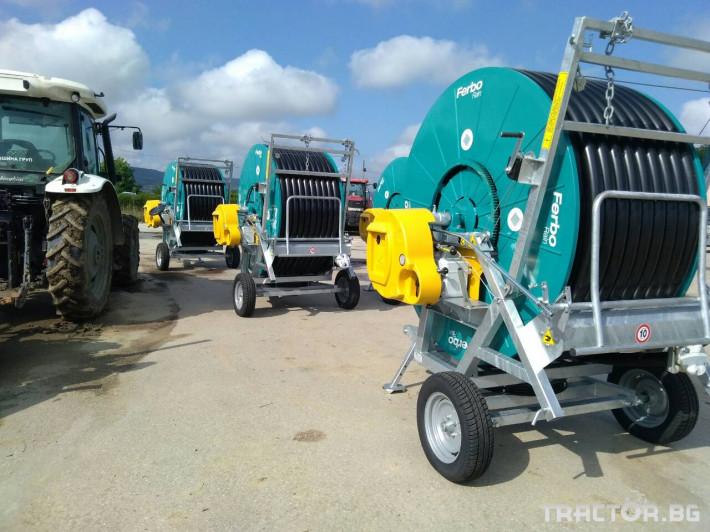 Напоителни системи Внос Система за напояване FERBO 12 - Трактор БГ