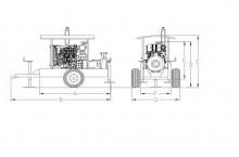 Моторна помпа Ferbo IR085