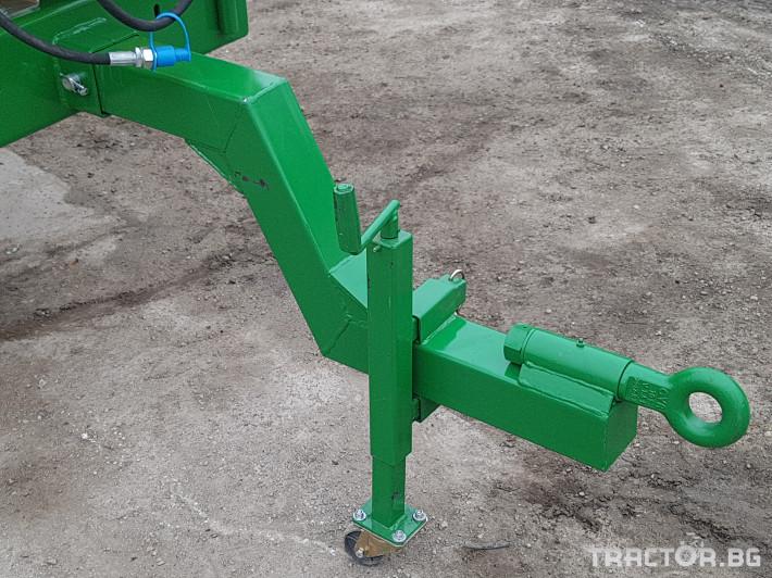 Пръскачки Меркурий Агро Прикачна  пръскачка 2000л 16м. повдигащ лифт 8 - Трактор БГ