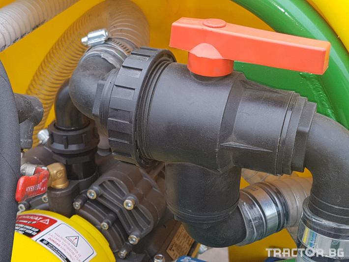 Пръскачки Меркурий Агро Прикачна  пръскачка 2000л 16м. повдигащ лифт 10 - Трактор БГ