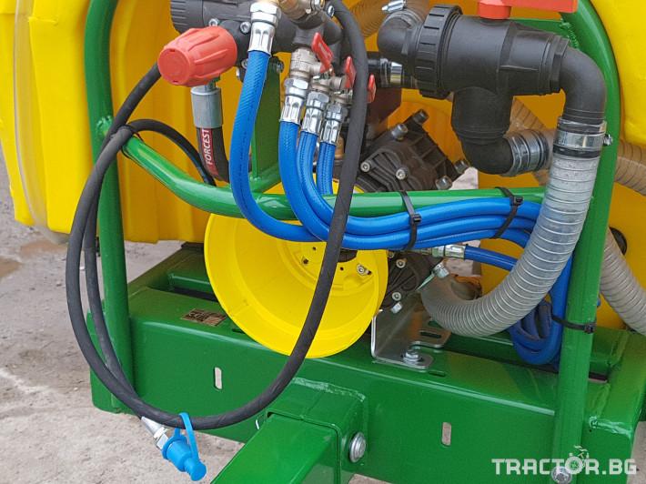 Пръскачки Меркурий Агро Прикачна  пръскачка 2000л 16м. повдигащ лифт 11 - Трактор БГ