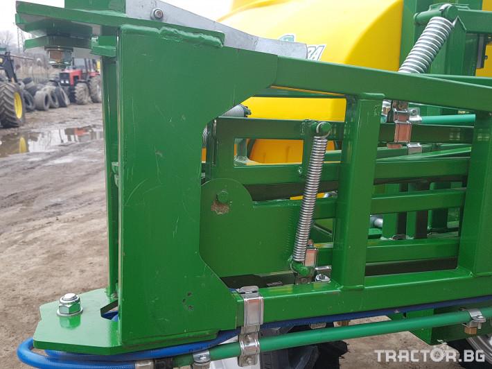 Пръскачки Меркурий Агро Прикачна  пръскачка 2000л 16м. повдигащ лифт 15 - Трактор БГ