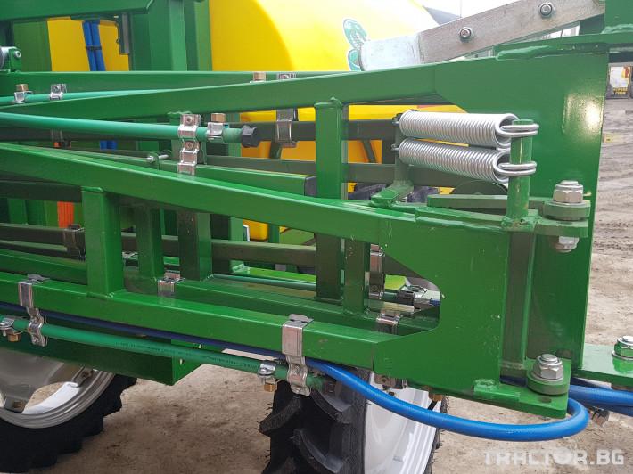 Пръскачки Меркурий Агро Прикачна  пръскачка 2000л 16м. повдигащ лифт 16 - Трактор БГ