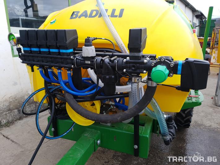 Пръскачки Меркурий Агро Прикачна  пръскачка 2000л 16м. повдигащ лифт 25 - Трактор БГ